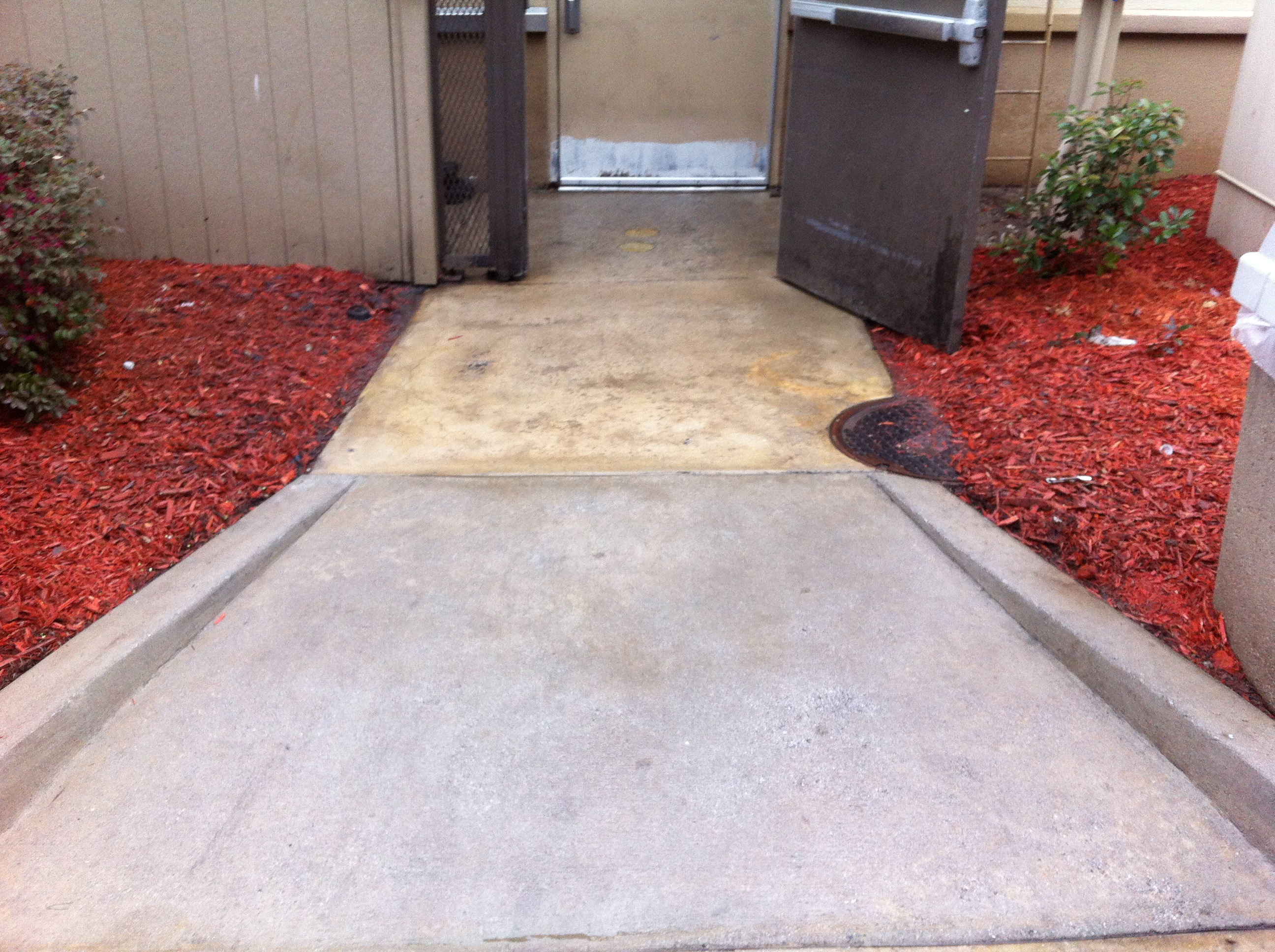 Concrete cleaning in chicago chicago concrete cleaning for How do you clean concrete